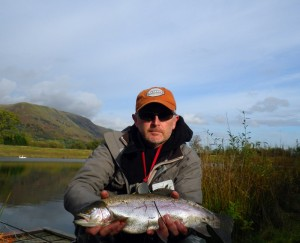 Full finned trout from Harviestoun