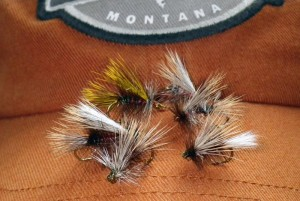 Stimulator dry flies